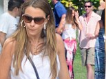 It really is a Modern Family: Actress Sofia Vergara basks in Mexican sunshine with fiancé Nick Loeb and her son Manolo