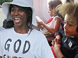 Shame, Shame, Shame: Sinitta flies to Simon Cowell's Barbados pad first class while her two children are left in ECONOMY seats