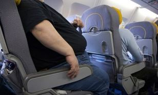 Viral: As rage letters go, they don't come much more furious than the epistle sent to an Australian airline by a passenger seated next to a man as big as 'an infant hippopotamus'