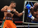 Waiting game: Amir Khan has signed to fight Floyd Mayweather but is waiting for the American to commit