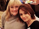 Mommy and me: Paris Jackson posted this pic of her with her mother Debbie Rowe on Christmas Eve