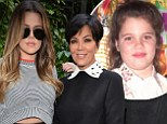 'I was shocked': Khloe Kardashian reveals mother Kris Jenner wanted her to get a nose job at the age of NINE