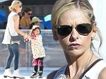 She's not following in Buffy's footsteps! Sarah Michelle Gellar's daughter Charlotte wears elbow and knee guards as pair go ice-skating