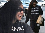 What a combo! Naya Rivera dons Chanel tracksuit as she indulges in Chipotle Mexican Grill in Los Angeles, California on Sunday