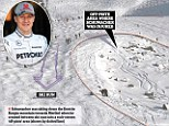 The area where Michael Schumacher is believed to have had his skiing accident has been revealed