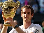 Overlooked: 2013 Wimbledon champion Andy Murray has not been recognised in the New Year Honours list