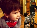 Nicole 'Snooki' Polizzi shares cute kitchen snap of Lorenzo then takes the tot to visit the construction site of their new home