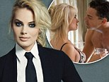 Margot Robbie reveals she 'shocked' Leonardo DiCaprio while filming sex scene for Wolf Of Wall Street...as she dons hot pants in sultry new shoot