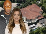 Marching on and moving out! Khloe Kardashian selling $4m marital home... as it emerges she is speaking to Lamar Odom