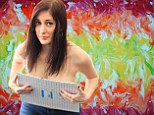 Meet the 'boob painter': Risqué artist creates amazing pictures using only her breasts