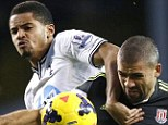 Talent: Tottenham left back Zeki Fryers left Manchester United for Standard Liege in 2012