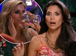 'I will not allow her to bully me!' Joyce Giraud, left, goes off on Brandi Glanville, right, in the latest episode of The Real Housewives Of Beverly Hills