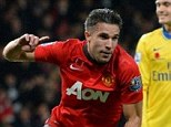 Things can only get better: David Moyes insists Manchester United will improve when Robin van Persie returns