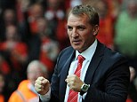 Confident: Brendan Rodgers backs his side to cause a torrid time for the top teams yet to visit Anfield this season