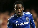 Open door: Michael Essien's agent said he could leave Chelsea in the transfer window, but only for a big club