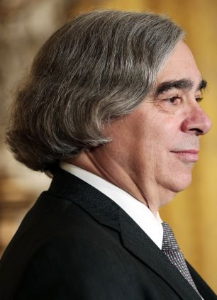 Ernest Moniz's profile is about as attractive as his frontal portrait