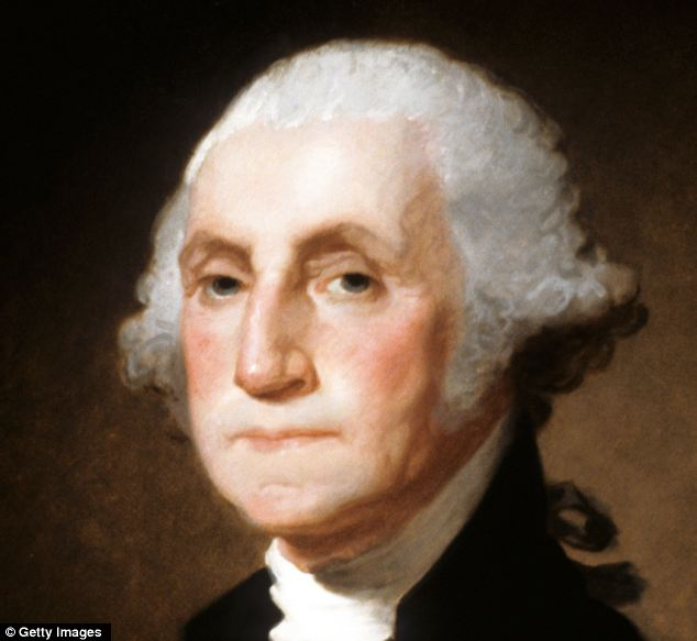 Is Ernest Monitz taking coiffure tips from George Washington? At least his teeth aren't made of wood -- yet