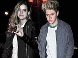 Niall Horan and model Barbara Palvin enjoy low-key date night at the pub... as One Direction singer's friend confirms the pair are OFFICIALLY dating