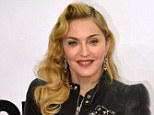 Controversial: Madonna managed to hit the headlines while seeing in 2014 on Tuesday night