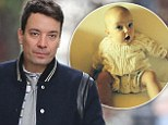 'BabyNewYear': Jimmy Fallon posted a photo of his five-month-old daughter, Winnie Rose, to his Instagram account on Tuesday - surprise and wonder in her large blue eyes and her mouth open in an O