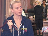 Julianne Hough goes shopping for black sweatpants
