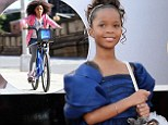 Quvenzhané Wallis to earn '$1.5million' for role in Annie remake plus stake in profits... just one year after Oscar nomination