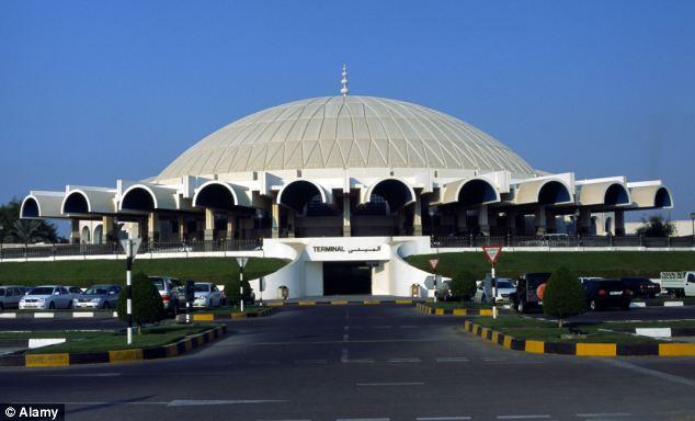 Airport: Sujeev Kumar had flown to Sharjah airport in the United Arab Emirates from Thiruvananthapuram, Kerala, in India