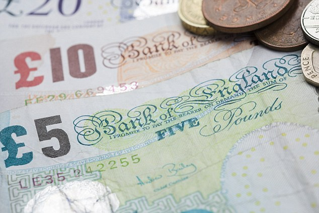 Boost: The pound goes into 2014 at its highest level in almost three years