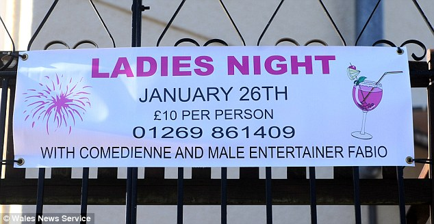 The Ladies Night was held almost a year ago and has taken until now to come to court because Zbudowskyj was being treated in a mental health unit