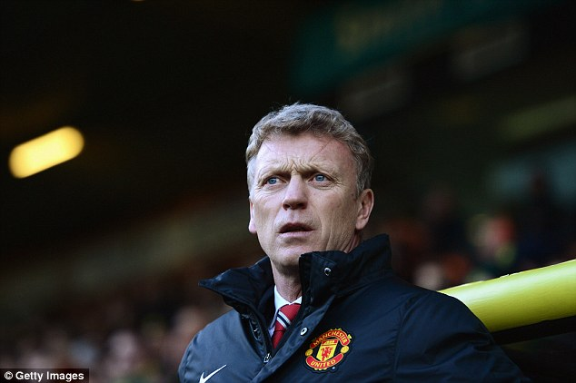 Looking ahead: Manchester United manager David Moyes hopes that his side will improve in 2014