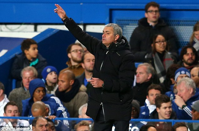 Mind games: Chelsea manager Jose Mourinho insists that Manchester City are clear favourites