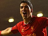 Stunning form: Luis Suarez has proved himself as one of the best strikers in the world with his Premier League goals this season