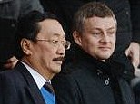 Spotted: Solskjaer with Tan at Arsenal