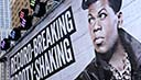 Image: An image of Big Freedia is displayed at the Guinness World Record and Big Freedia Twerking Event in September (© Ilya S. Savenok/Getty Images)