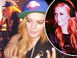 Anything Paris can do! Lindsay Lohan gets tips from DJs Diplo and Major Lazer as she toys with following in frenemy Hilton's footsteps