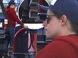 Those boots were made for... pumping gas: Dressed down Kristen Stewart goes on Pe-trol in unflattering woolly footwear