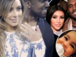 The year of 'Kimye Love!' Kim Kardashian shares video retrospective of her romance with Kanye West and posts it under her future married name