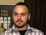 Life imitating art: 'Breaking Bad' super fan Ryan Carroll (pictured in an earlier interview) has been arrested and hit with multiple drug charges
