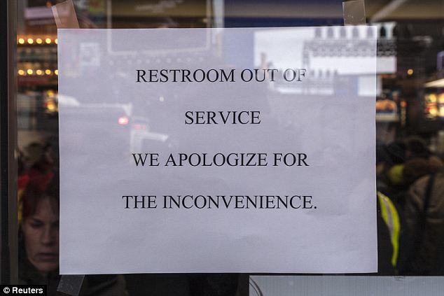 Warning: There are no bathrooms available for revelers and once people leave, they can't come back to their spot