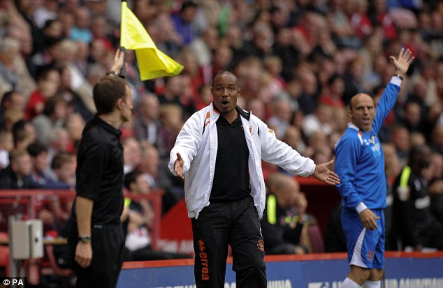 Banned: Ince is currently serving a five-match stadium ban after being found guilty of violent conduct