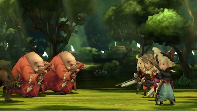 Bravely Default 3DS Demo Now Available in North America