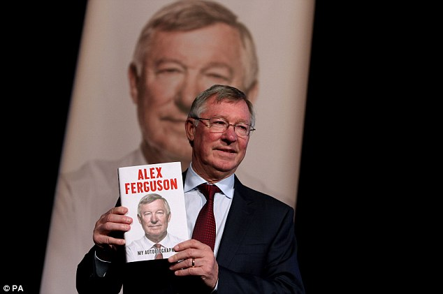 Best seller: Ferguson's autobiography sold 115,547 copies in the first week