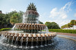 Pineapple Fountain in Charleston, South Carolina