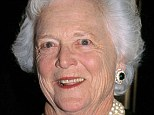Doing well: Former first lady Barbara Bush is still recovering in a Houston hospital after undergoing treatment for a respiratory illness on Monday