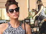 Where's Ryan? Lonely-looking Eva Mendes sets off on solo grocery run as rumours of a split with Gosling continue