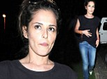 Cheryl Cole keeps outfit low-key in skinny jeans and blue stilettos as she celebrates New Year's Eve in South Africa