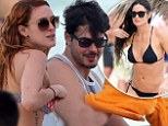 New year, new start! Rumer Willis reconciles with boyfriend and puts rift with mother Demi Moore behind her on family holiday in Mexico