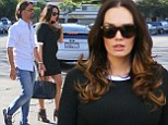 Heavily pregnant Tamara Ecclestone reveals small and perfectly formed bump in tight dress as she hits the shops in LA