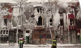 The fatal fire in Minneapolis on Wednesday came amid freezing conditions