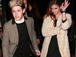 Niall Horan and model Barbara Palvin suggest things are hotting up as they spend New Year's Eve together